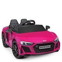 Детский электромобиль (на радио управлении фиолетовый)
