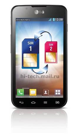 Чехол для LG Optimus L7 II Dual p715