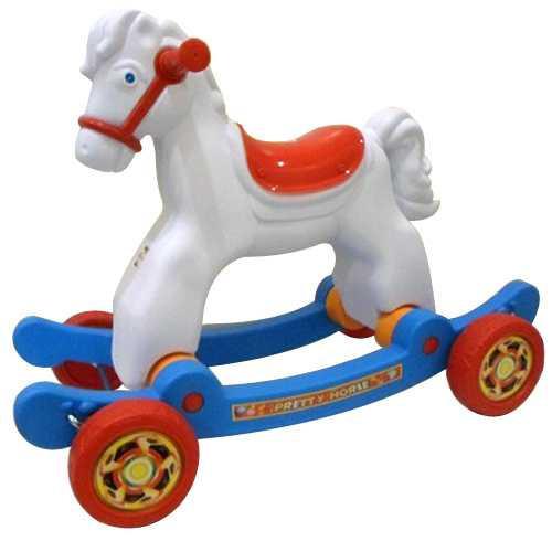 Лошадка качалка Орион 146B2 + колеса