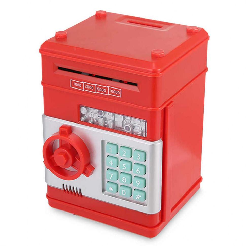 Скарбничка-сейф MK 4524 з кодом (Red)