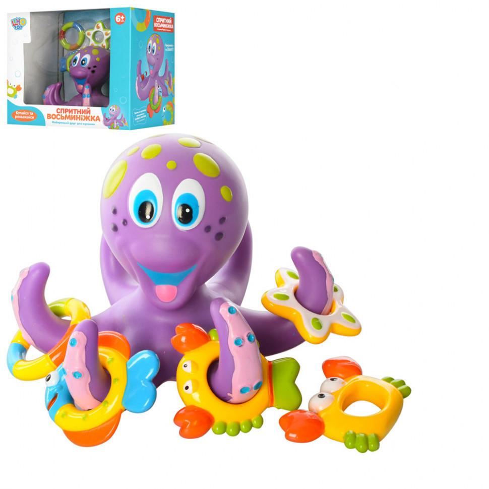 Игра AQ 0001 для купания осьминог