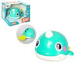 Детская игрушка для купания Кит 8101 подвижные детали, фото 2