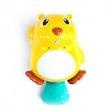 Іграшка для купання Бобер 8102 зі світловими ефектами, фото 5