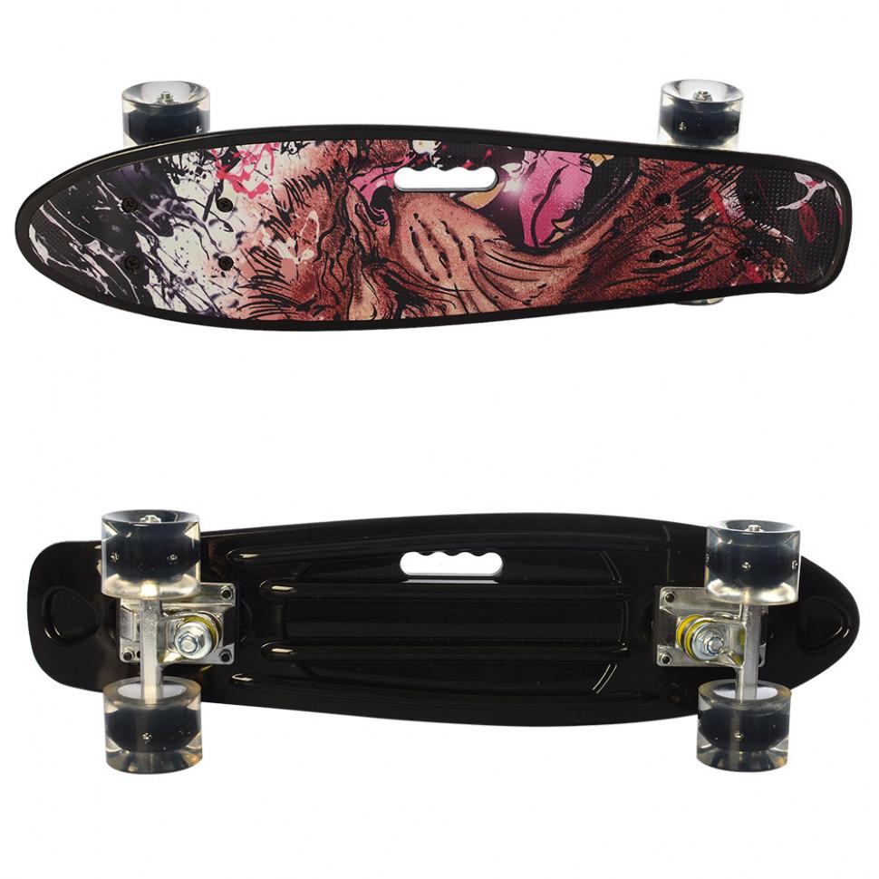 Скейт MS 0749-6 (Black)