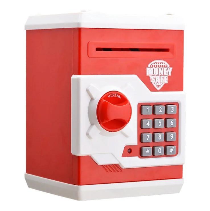 Копилка-сейф MK 3916 (Красный)