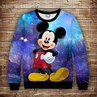 Свитшот Mickey Cosmos Взрослые и детские размеры