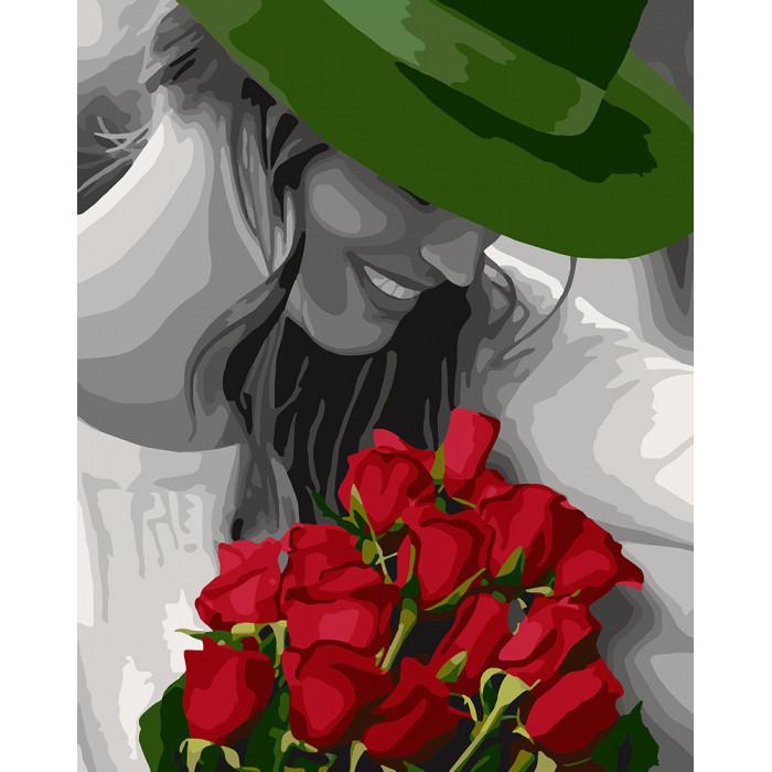 """Картина по номерам. """"Цветы любимой"""" 40*50см KHO4705"""