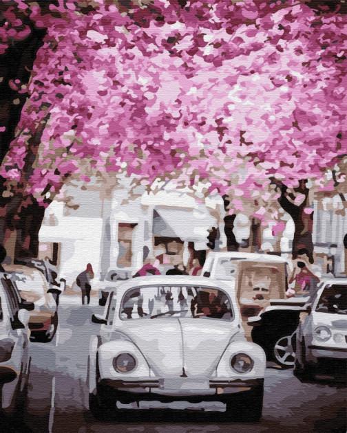 """Картина за номерами. Brushme """"В місті весна"""" GX31972"""