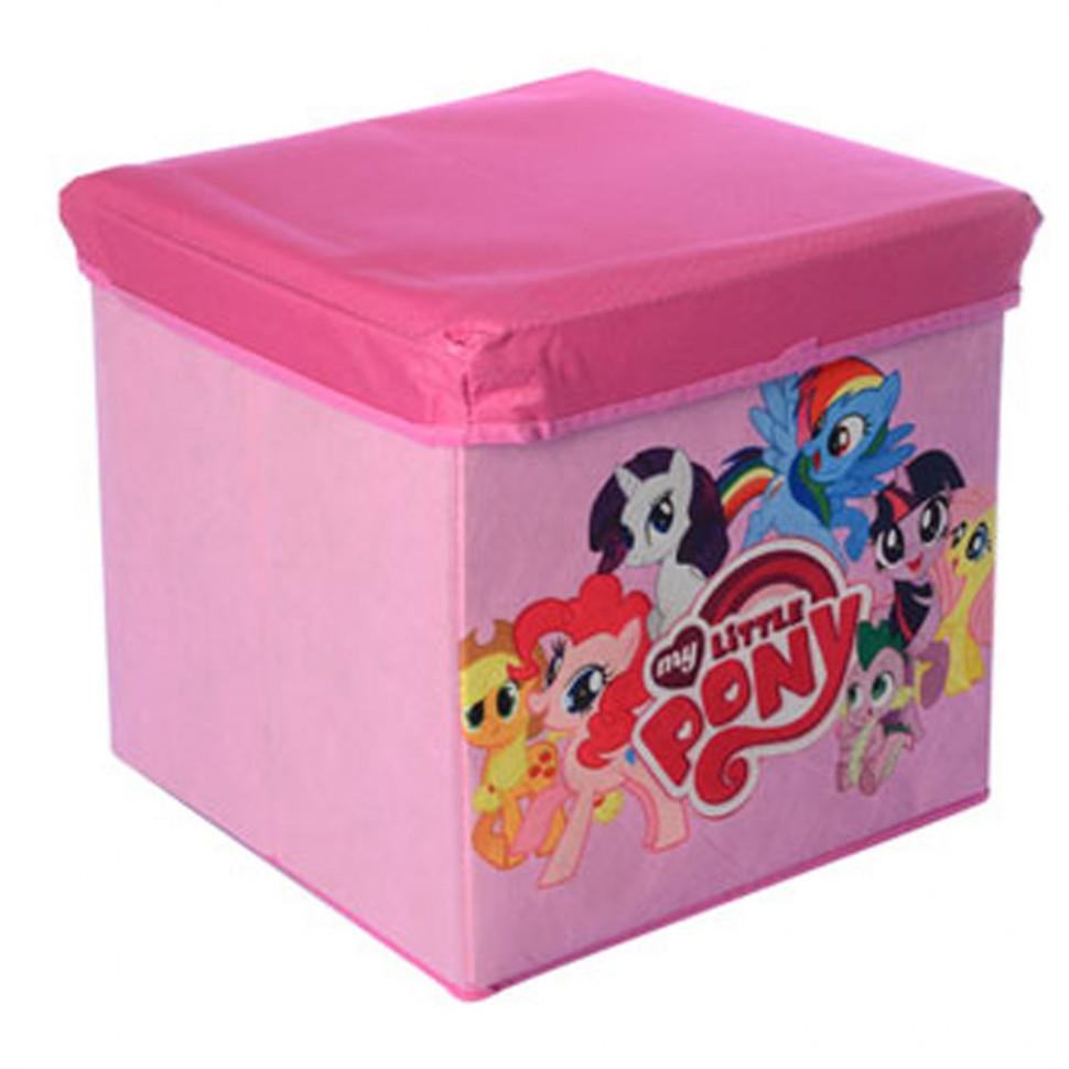 Корзина для игрушек M 5765 (my Little Pony)