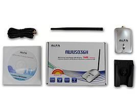 Alfa AWUS036H 1000 mW + 15dbi wi-fi антенна, фото 2
