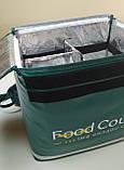Термосумка для курьерской доставки пиццы, суши, напитков, еды. Рюкзак для еды, суши, напитков. Каркас. ПВХ, фото 4