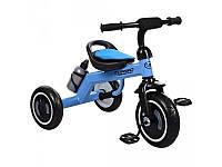 Велосипед трехколесный EVA, голубой