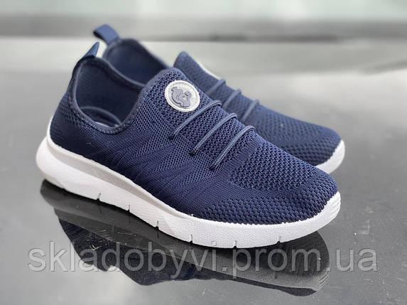 Кросівки жіночі SJ 583 сині, фото 2