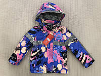 Куртка-ветровка весенняя детская 80-104 с отражателем, фото 1