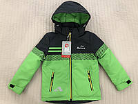 Курточка весняна пряма на хлопчика 116-134