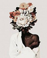 Картина по номерам Эми Джадд Прекрасный цветок 40х50