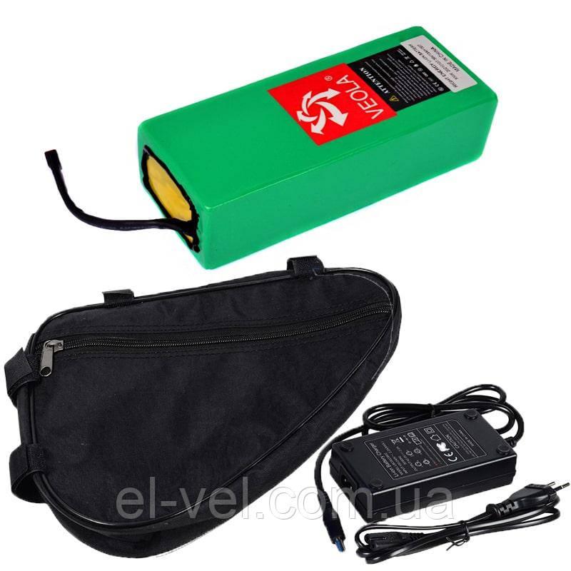 Аккумуляторная батарея 36В 10Aч литиевая (в термоусадке), сумка и ЗУ