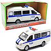 Машинка игрушечная автопром «Полиция» (свет, звук, пластик), 20х7х10 см (7661-4)