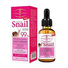 Сыворотка для лица Aichun Beauty Snail 99 % с коллагеном и витамином Е, 30 мл