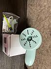 ОПТ Портативний ручний пилосос Настільний міні-пилосос C500 для прибирання офісних клавіатури зелений з білим, фото 4