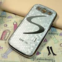 Чехол к Samsung GalaxyS3 (i9300) серебрянный