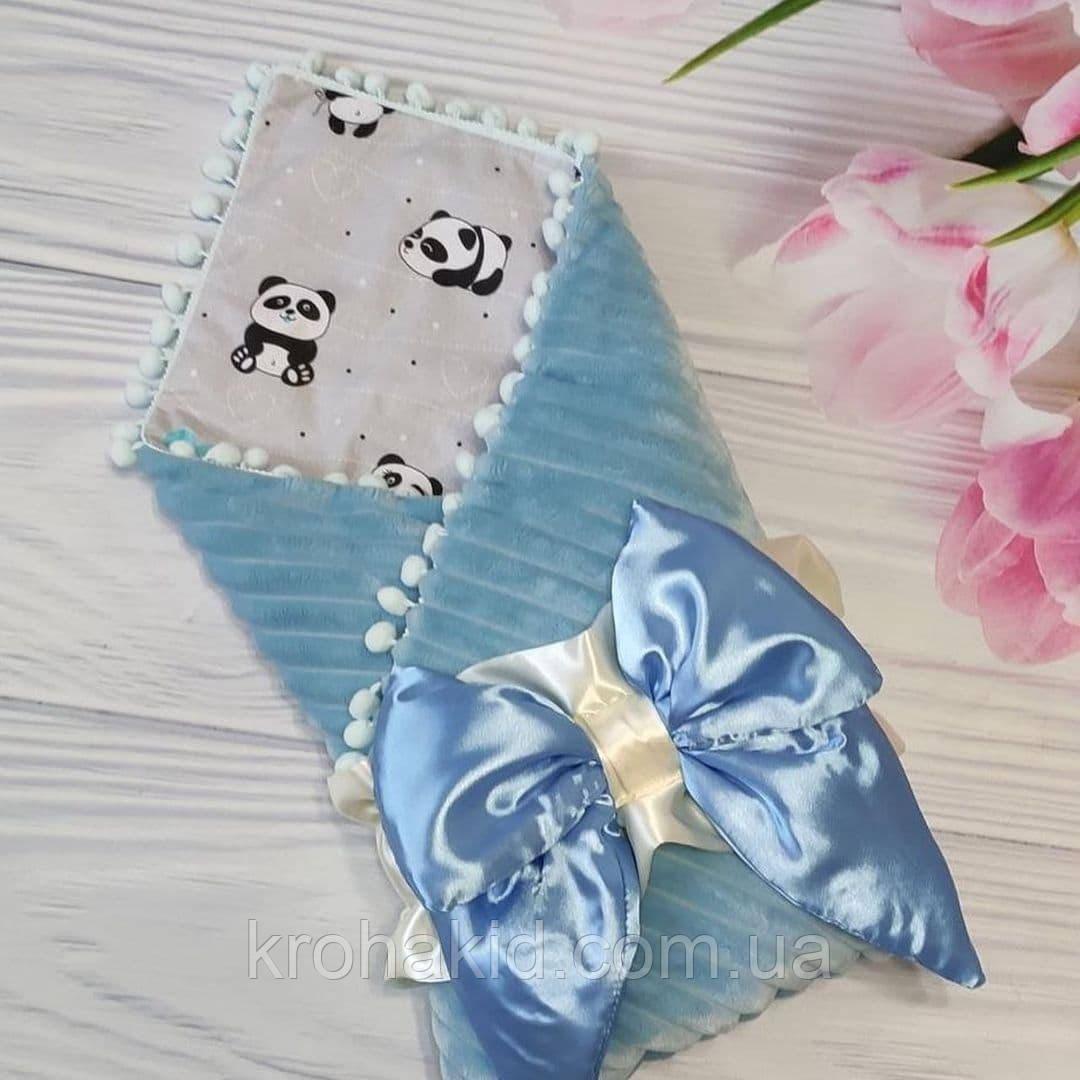 """Дитячий демісезонний конверт на виписку """"Бубон"""", конверт-ковдру (ВЕСНА/ОСІНЬ), конверт-ковдру для новонародженого"""