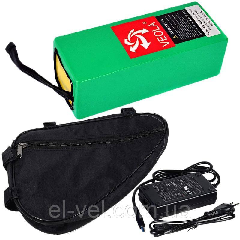Акумуляторна батарея 36В 10Aч літієва (в термоусадці), сумка і ЗП