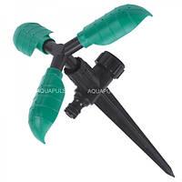 Ороситель 3 - х рожковый вращающийся на ножке Aquapulse