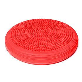 Qmed Balance Disc Red - Балансувальний диск, червоний