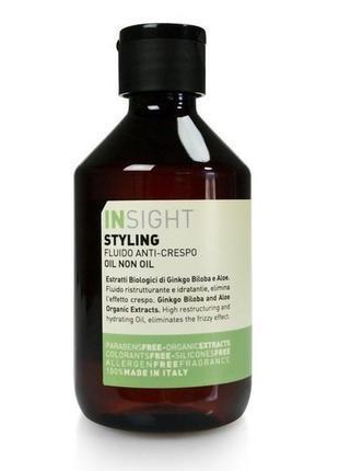 Масло для волос Insight на основе биодинамического экстракта гинкго билоби и алое, 250 мл.