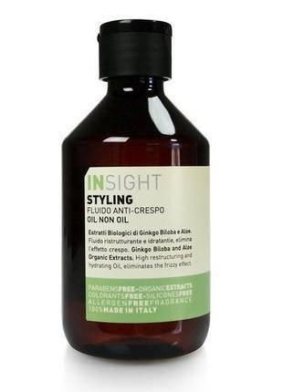 Масло для волос Insight на основе биодинамического экстракта гинкго билоби и алое, 250 мл., фото 2