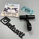 Розширювач керма велосипеда - штанга на кермо одинарна, фото 2