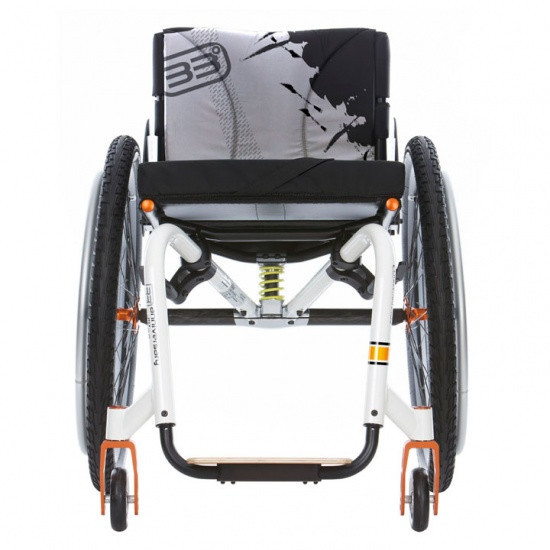 Активна коляска з підвіскою KUSCHALL R33