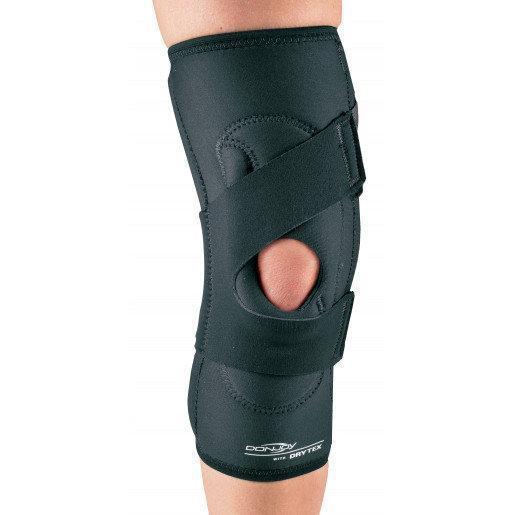 Пателлофемолярный коленный ортез DonJoy Drytex Lateral J, правый, черный