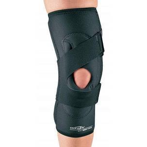 Пателлофемолярный коленный ортез DonJoy Drytex Lateral J, правый, черный, фото 2