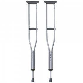 Подмышечные костыли (пара) 112-132 см OSD-BL570200