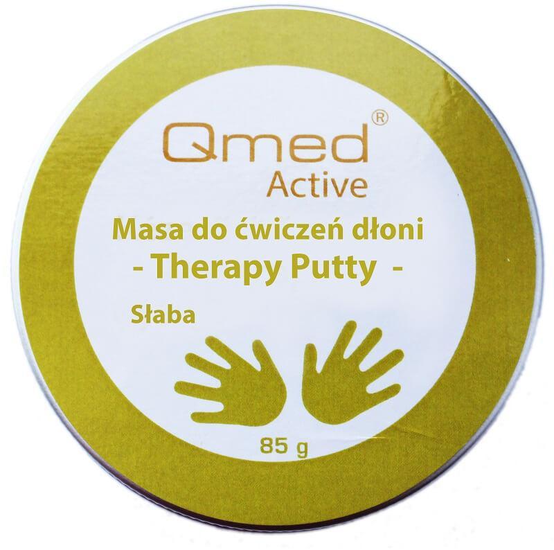 Пластична маса для реабілітації долоні Qmed Therapy Putty Soft, м'яка