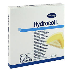 Hydrocoll / Гидрокол 15х15см - гидроколоидная поглинаюча пов'язка стерильна, фото 2