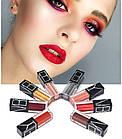 ОПТ Набір матових помад для губ металеві відтінки VIBELY Lasting Lip Gloss на кожен день жіночі, фото 4