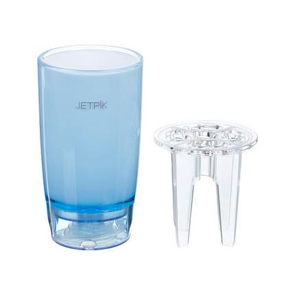 Склянку з функцією подачі води Jetpik, 1 шт. Блакитний, фото 2