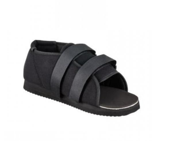 Обувь для ходьбы в гипсе Qmed. Обувь для гипса Postoperative Shoe / Plaster Protection S