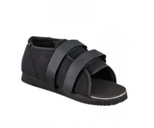 Обувь для ходьбы в гипсе Qmed. Обувь для гипса Postoperative Shoe / Plaster Protection S, фото 2