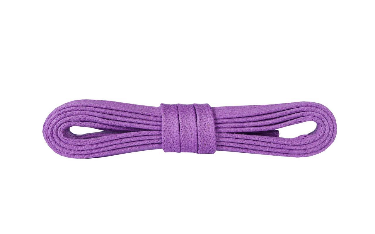 Шнурки для обуви Kaps вощеные плоски 120 см, цвета в ассортименте Фиолетовый