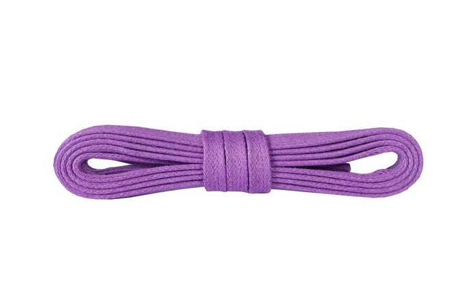 Шнурки для обуви Kaps вощеные плоски 120 см, цвета в ассортименте Фиолетовый, фото 2