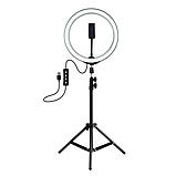Штатив,трипод 2.10 м для кільцевої лампи,фотоапарата,телефону, фото 2