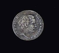 Людвиг монетовидная медаль №737 копия