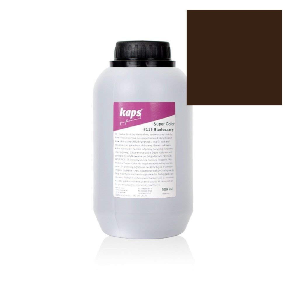 Краска для обуви Kaps Super Color 500 ml 139 Middle Brown