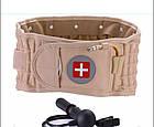 ОПТ Пояс масажер для поперекового відділу Spinal Air Traction Waist Belt Brace пневматичний пояс-корсет, фото 4