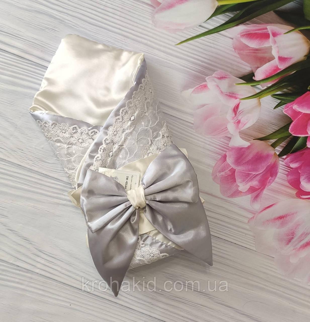 Детский демисезонный конверт на выписку, конверт-одеяло (ВЕСНА/ ЛЕТО), конверт-плед для новорожденного
