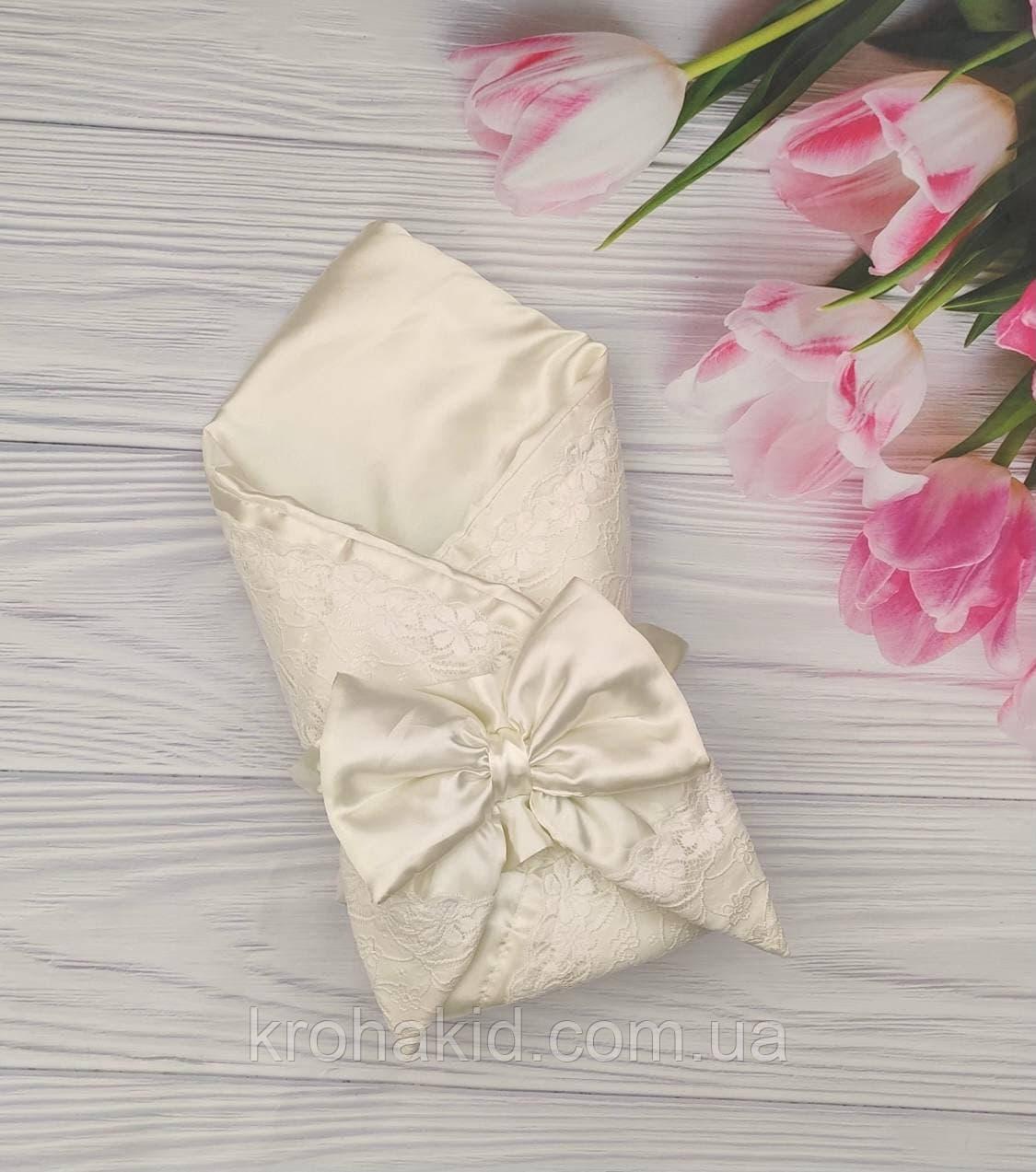 Дитячий демісезонний конверт на виписку, конверт-ковдру (ВЕСНА/ ЛІТО), конверт-ковдру для новонародженого